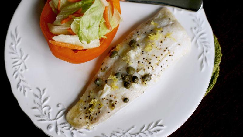 Lemon Caper Tilapia