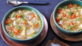 Alphabet Chicken Soup
