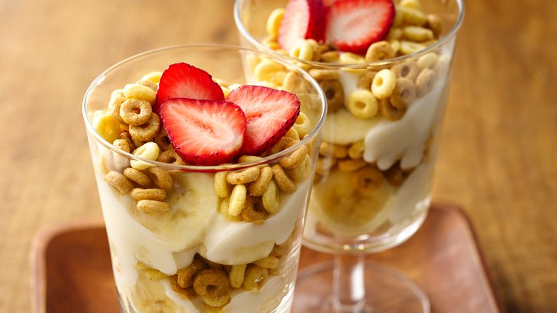 Parfaits de Dulce de Leche Cheerios®