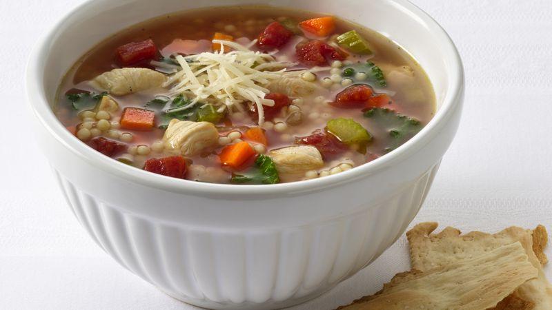Chicken And Pastina Soup Recipe Bettycrocker Com