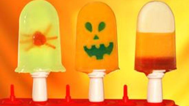Halloween Freezer Pops