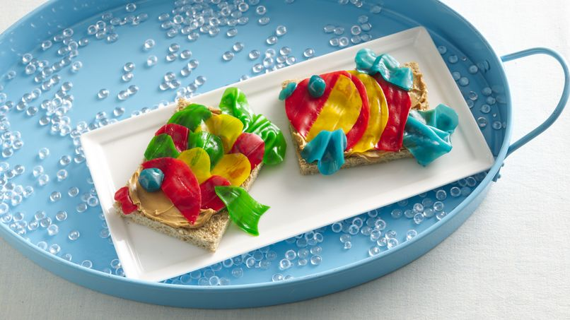 Fruity Fish Snack