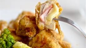Cordon Bleu Chicken Nuggets