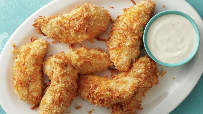 Air Fryer Cheddar Ranch Chicken Tenders