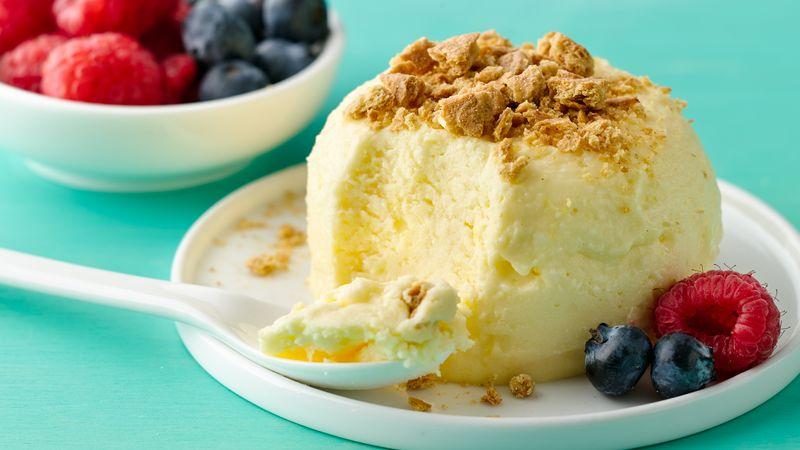 Upside-Down Mug Cheesecake