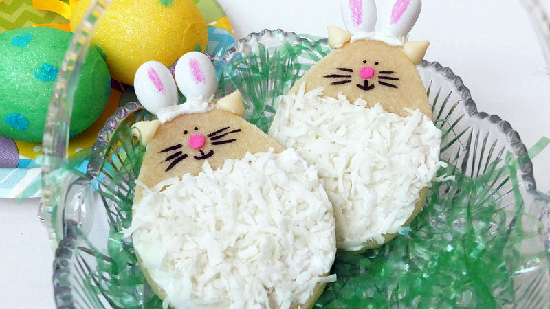 Easter Cat Cookies