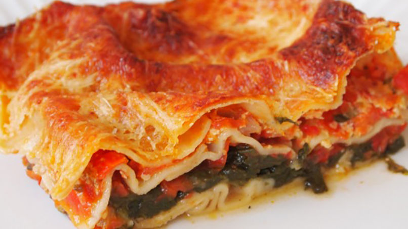 Vegetable Lasagna Step by Step