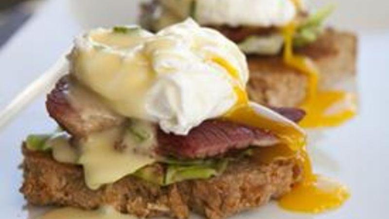 Corned Beef Hash Eggs Benedict