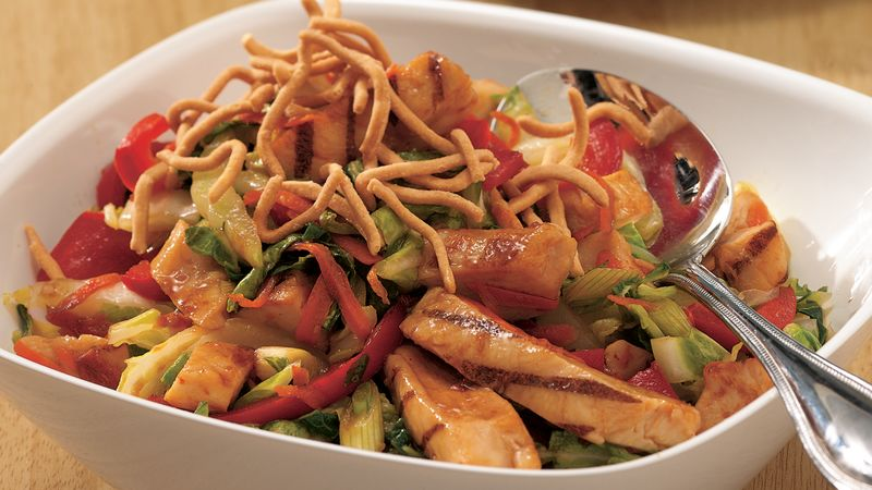 Asian Chicken Hot Slaw