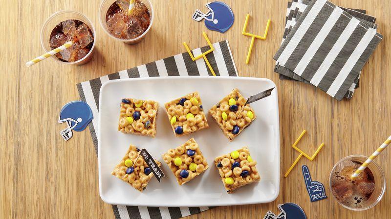 No-Bake Team Spirit Cereal Bars