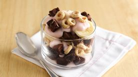 Brownie Yogurt Parfait