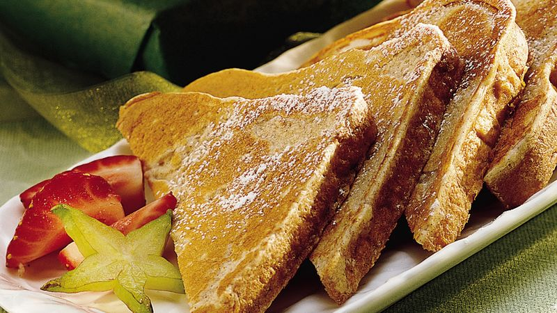 Cinnamon Batter-Dipped French Toast