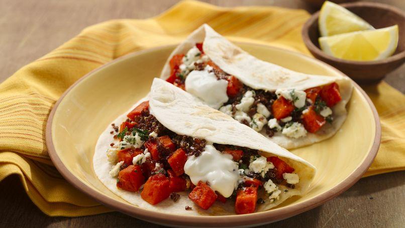 Tacos Vegetarianos de Medio Oriente
