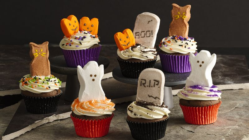 PEEPS® Halloween Party Cupcakes