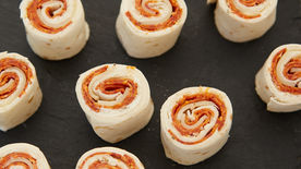 Cold Pepperoni Pizza Roll-Ups