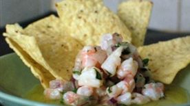 Orange-Basil Shrimp Ceviche