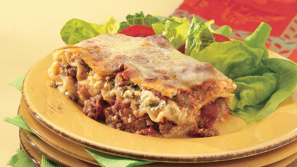 Italian Classic Lasagna recipe from Pillsbury.com