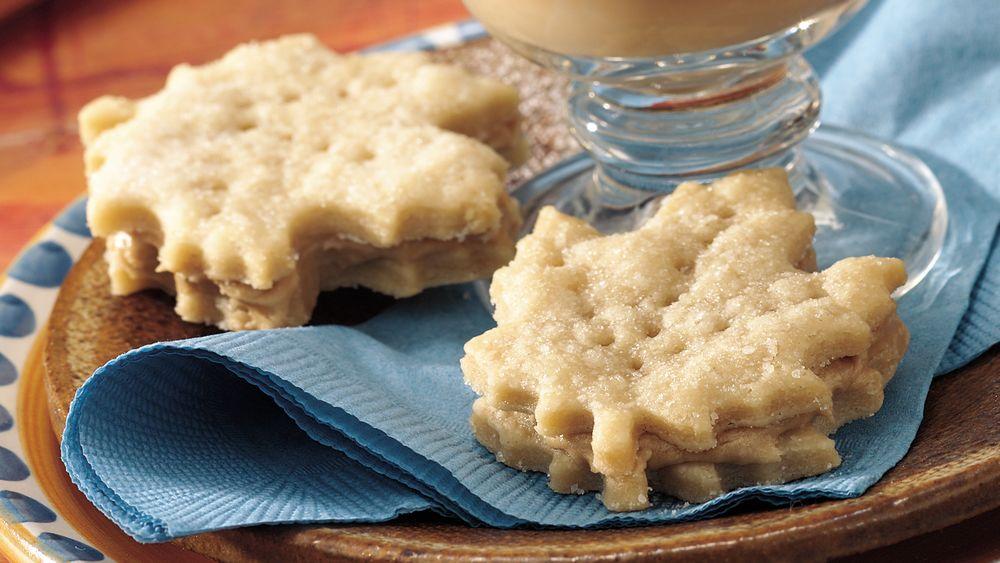 Maple Leaf Cream Wafers