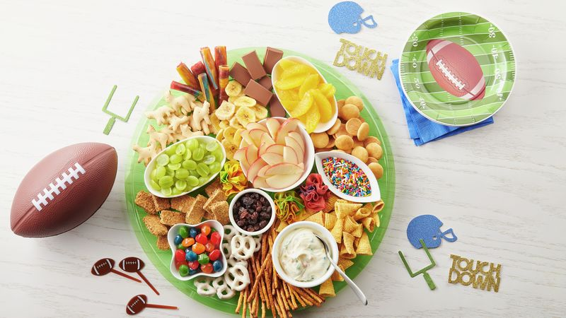 Kids' Game Day Charcuterie Board