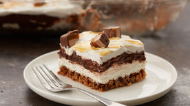 Milky Way™ Chocolate Lasagna