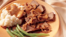 Slow-Cooker Caramelized-Onion Pot Roast