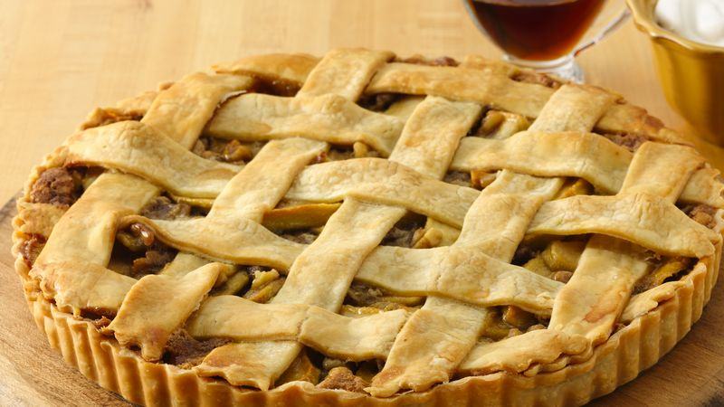 """""""Mapple"""" (Maple & Apple) Walnut Tart"""