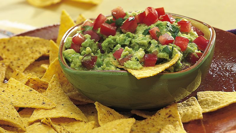 Chunky Guacamole Recipe Bettycrocker Com