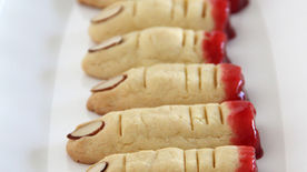 Severed Finger Sugar Cookies