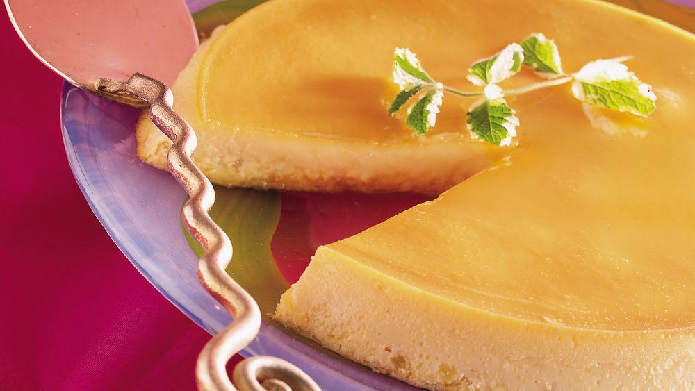 cream cheese flan recipe