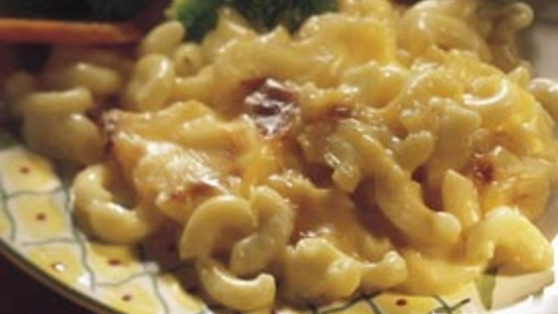 Family-Favorite Macaroni and Cheese (lighter recipe)