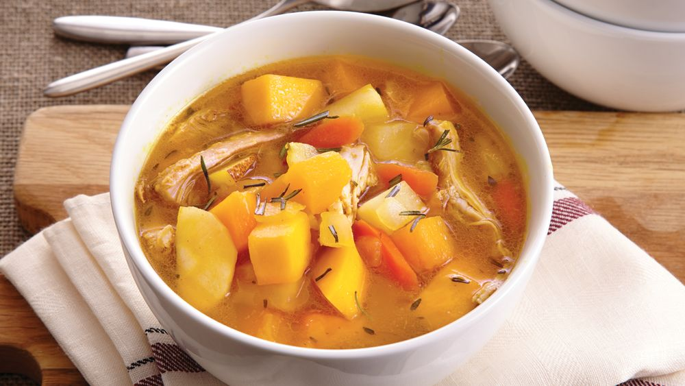 Autumn Vegetable Chicken Stew