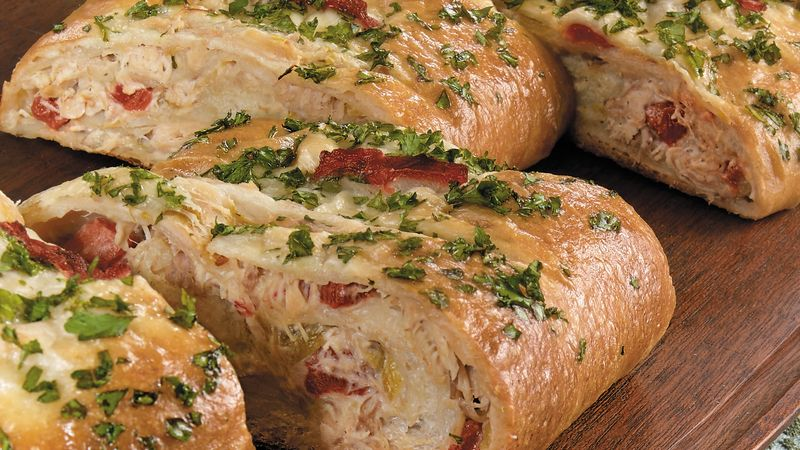 Chicken-Chile Stromboli