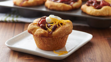 Chili Cheese Dog Biscuit Cups