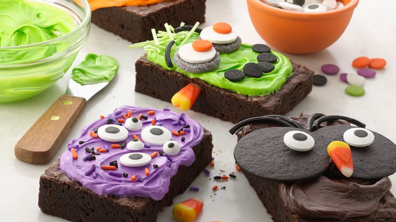 Make-Your-Own Halloween Brownies
