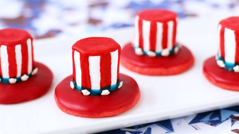 Mini Uncle Sam Hats
