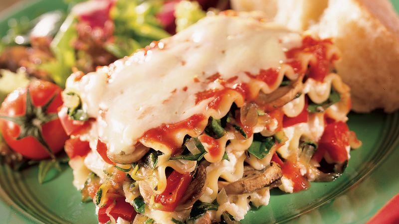 Italian vegetarian lasagna recipe pillsbury italian vegetarian lasagna forumfinder Images