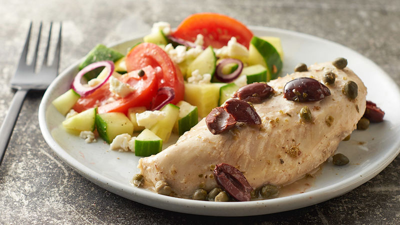 Slow-Cooker Greek Chicken