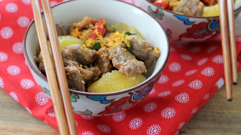 Orange Beef Stir-Fry