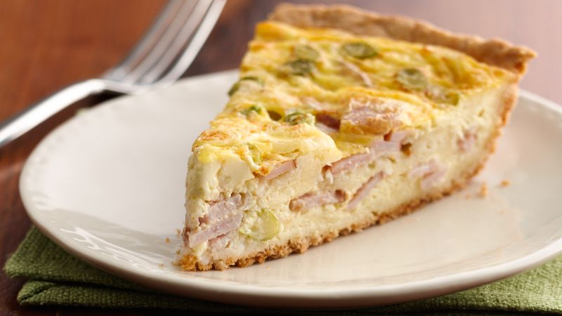 Easy Cheese And Bacon Quiche Recipe - Bettycrockercom-2534