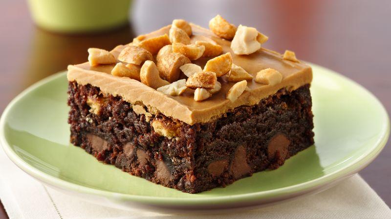 Crunchy Peanut Butter Blast Brownies