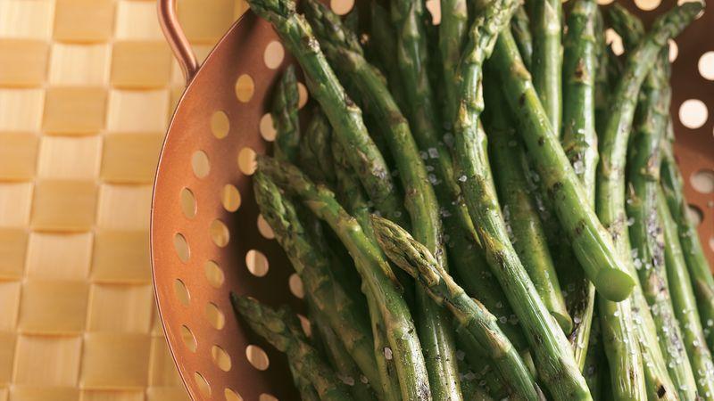 Asparagus On The Grill Recipe Bettycrocker Com