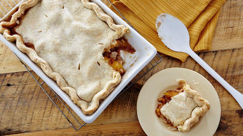 Peach Cobbler Recipes Bettycrocker Com