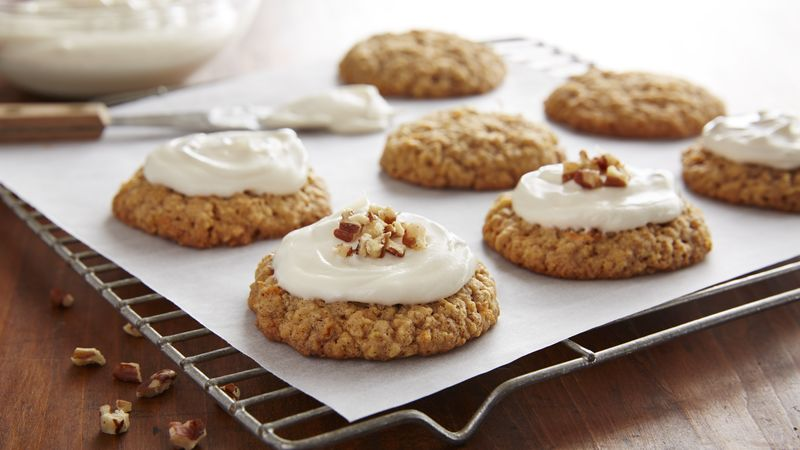 Carrot Cake-Oatmeal Cookies Recipe - BettyCrocker.com