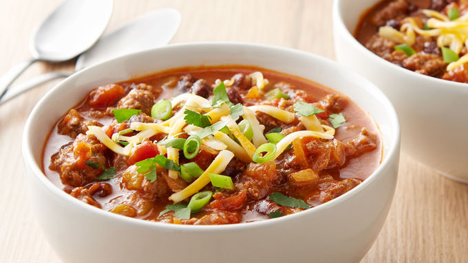 Instant Pot® Beef and Black Bean Chili
