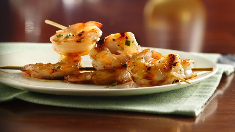 Grilled Honey-Butter Shrimp