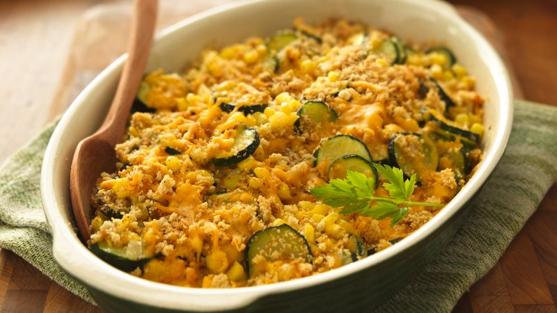 Zucchini-Corn Gratin