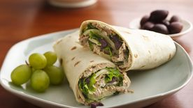 Pesto Tuna Wrap
