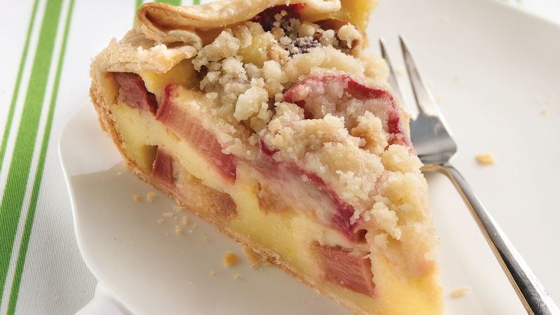 Country Rhubarb Crostata