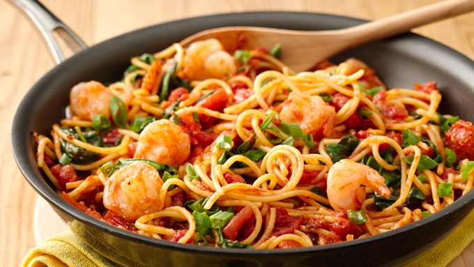Easy family dinner ideas bettycrocker this weeks menu 30 minute dinners to get you back in routine forumfinder Choice Image