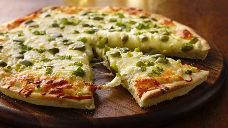 Baked Crab Rangoon Pizza Recipe Tablespooncom
